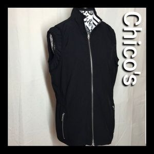Chico's Zynergy size 2 vest